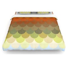 Half Circles Waves Duvet