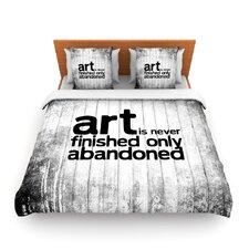 Art Never Finished Duvet