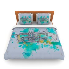 Hunting for Jazz Duvet Cover