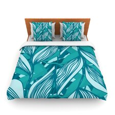 Algae by Anchobee Fleece Duvet Cover