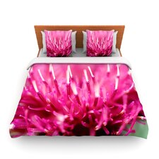 Frosted Tips by Beth Engel Fleece Duvet Cover