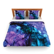 Soul Searching by Claire Day Fleece Duvet Cover