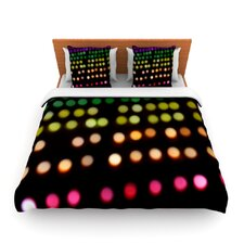 City Lights by Catherine McDonald Fleece Duvet Cover