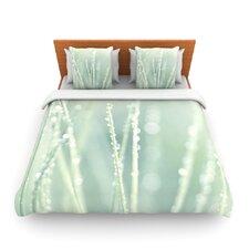Blue Ice by Ingrid Beddoes Fleece Duvet Cover