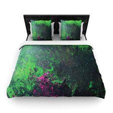 Acid Rain by Claire Day Fleece Duvet Cover