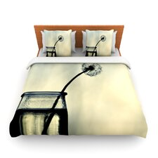 Make A Wish by Ingrid Beddoes Fleece Duvet Cover