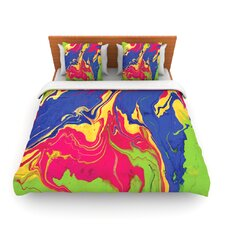 Escaping Reality by Claire Day Fleece Duvet Cover
