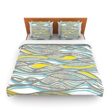Drift by Gill Eggleston Fleece Duvet Cover