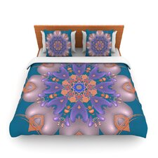 Whisker Lily by Michael Sussna Fleece Duvet Cover