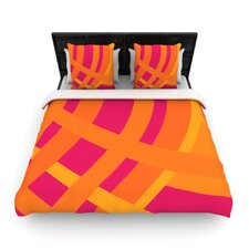 Tangled by Fotios Pavlopoulos Fleece Duvet Cover