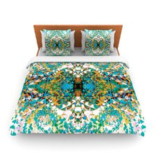 Summer Breeze by Nikposium Woven Duvet Cover