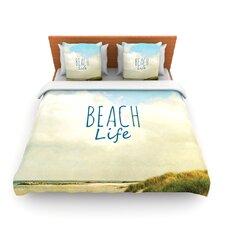 Beach Life by Iris Lehnhardt Fleece Duvet Cover