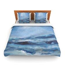 Rough Sea by Iris Lehnhardt Fleece Duvet Cover