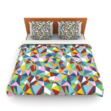 Abstraction by Project M Fleece Duvet Cover