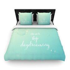 Never Stop Daydreaming by Susannah Tucker Fleece Duvet Cover