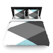 Diamonds by Suzanne Carter Fleece Duvet Cover