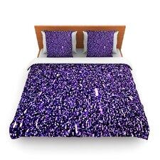 Purple Dots Duvet Cover