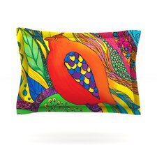 Psycho-Delic Dan by Catherine Holcombe Woven Pillow Sham