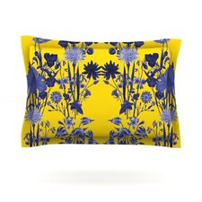 Bloom Flower by Debora Chodik Cotton Pillow Sham