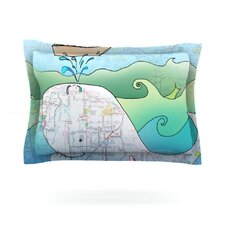 I'm on a Boat by Catherine Holcombe Cotton Pillow Sham