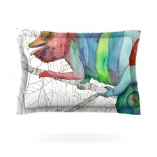 Chameleon Fail by Catherine Holcombe Cotton Pillow Sham