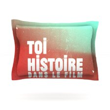 Toi Histoire by Danny Ivan Woven Pillow Sham