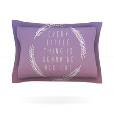 Little Thing by Galaxy Eyes Cotton Pillow Sham