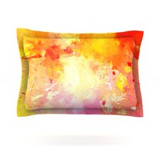 Splash by CarolLynn Tice Cotton Pillow Sham