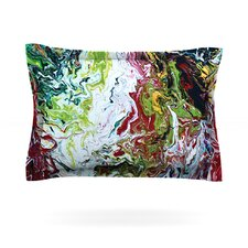 Chaos by Claire Day Woven Pillow Sham