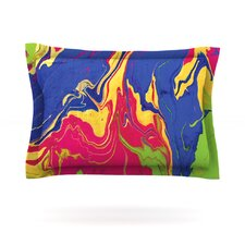 Escaping Reality by Claire Day Woven Pillow Sham