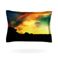 A Dreamscape Revisited by Caleb Troy Cotton Pillow Sham