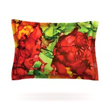 One Love by Claire Day Woven Pillow Sham