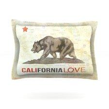 Cali Love by iRuz33 Woven Pillow Sham