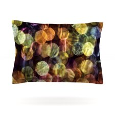 Warm Sparkle by Ingrid Beddoes Cotton Pillow Sham
