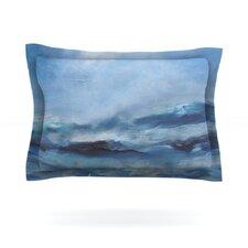 Rough Sea by Iris Lehnhardt Cotton Pillow Sham
