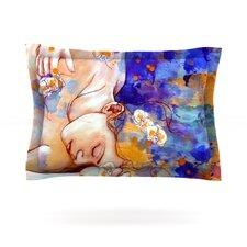 A Deeper Sleep by Kira Crees Woven Pillow Sham