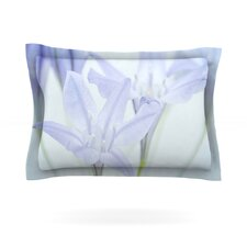 Triplet Lily by Iris Lehnhardt Cotton Pillow Sham