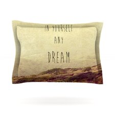 Believe by Ingrid Beddoes Cotton Pillow Sham