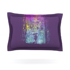 Purple Rain by Frederic Levy-Hadida Cotton Pillow Sham