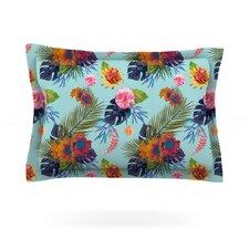 Tropical Floral by Nika Martinez Cotton Pillow Sham
