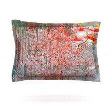 Mots de La Terre by Iris Lehnhardt Cotton Pillow Sham