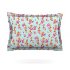 Paper Flower by Laura Escalante Cotton Pillow Sham