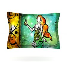 Fairy Tale Frog Prince by Mandie Manzano Cotton Pillow Sham