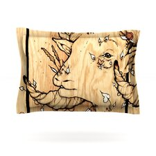 Ram by Jennie Penny Cotton Pillow Sham