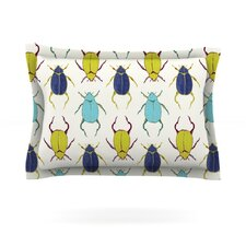 Beetles by Laurie Baars Woven Pillow Sham