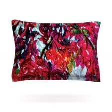 Bougainvillea by Mary Bateman Woven Pillow Sham