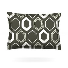 Hexy by Laurie Baars Cotton Pillow Sham