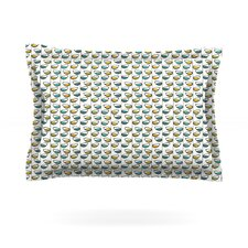 Spring Stem by Julie Hamilton Woven Pillow Sham