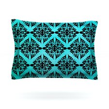 Eye Symmetry Pattern by Pom Graphic Design Woven Pillow Sham