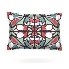 Brown Round Tiles by Miranda Mol Cotton Pillow Sham